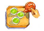 上級茶の煎れ方4
